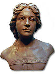 Mary's bust, Sculptor in Barcelona