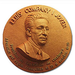 Bust of Lluis Companys, Sculptor in Barcelona